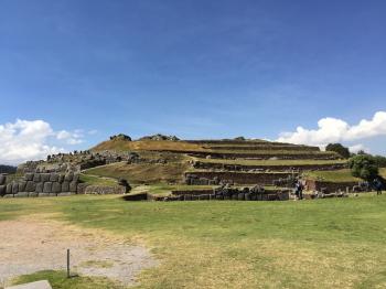 サクサイワマンの城塞跡