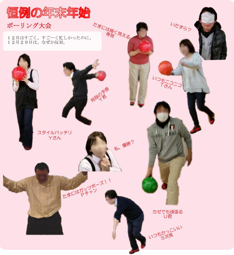 ボーリング大会