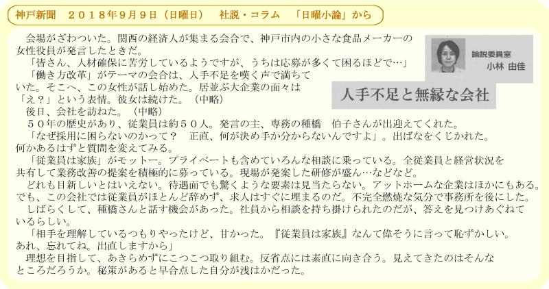 サンスマイル16号/神戸新聞掲載記事